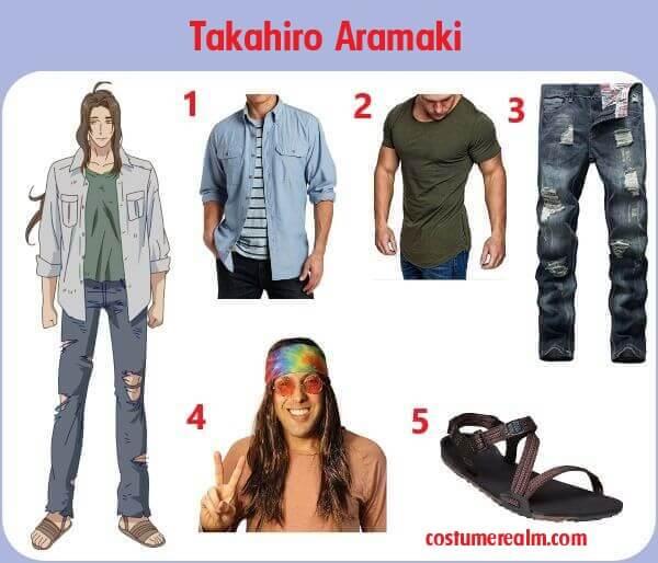 Diy Takahiro Aramaki Costume