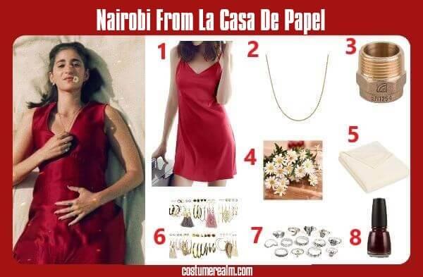 Money Heist: La Casa De Papel Nairobi Outfits