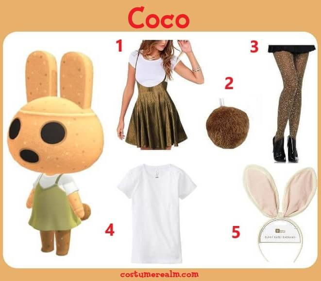 Animal Crossing Coco Costume