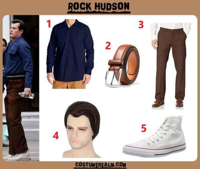 Halloween 2020 Hudson Netflix's Hollywood Rock Hudson Costume Guide