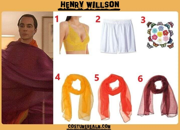Hollywood Henry Willson Costume