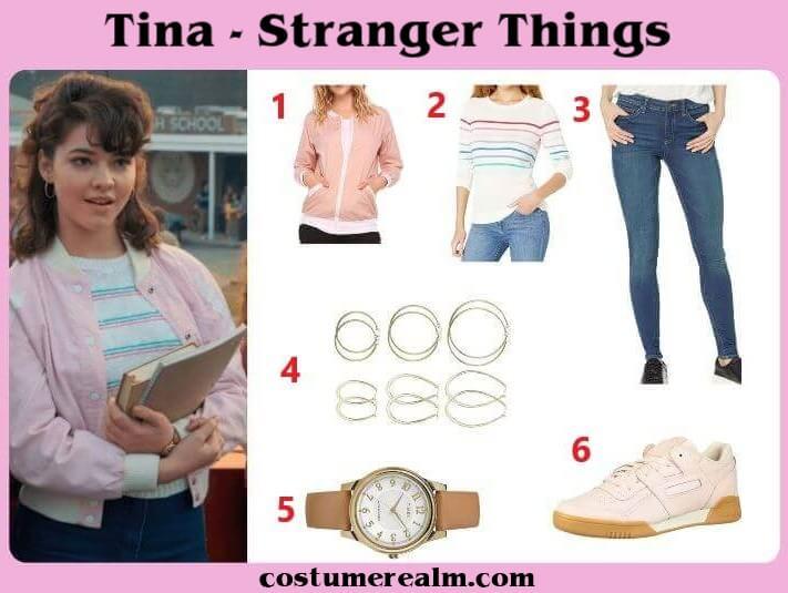 Stranger Things Tina Outfits