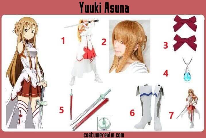 Yuuki Asuna Costume