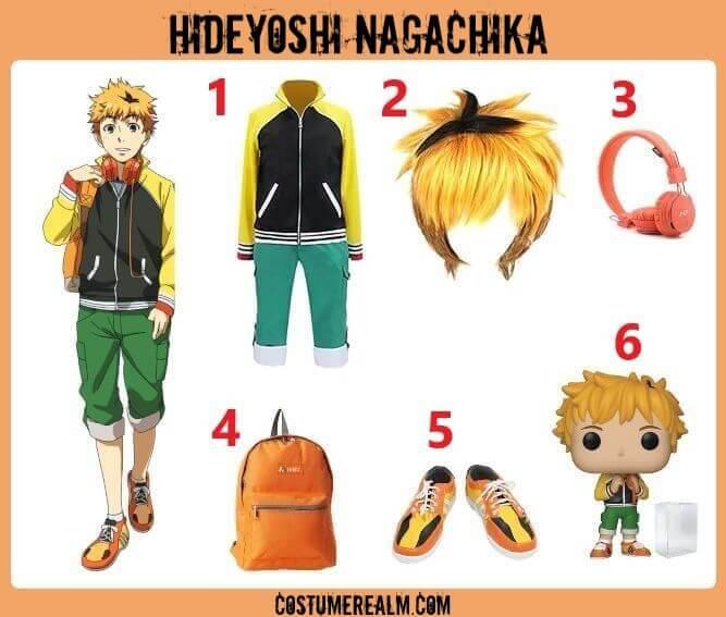 Hideyoshi Nagachika Costume