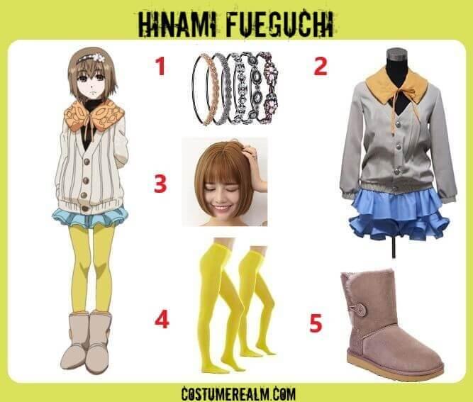 Tokyo Ghoul Hinami Fueguchi Costume