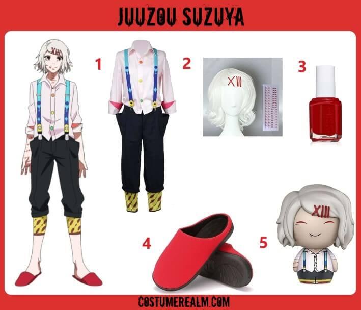 Tokyo Ghoul Juuzou Suzuya Costume