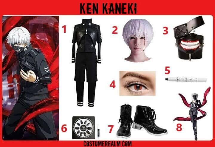 Tokyo Ghoul Ken Kaneki Costume Guide