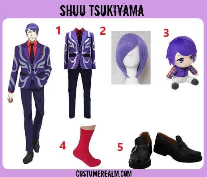 Tokyo Ghoul Shuu Tsukiyama Cosplay