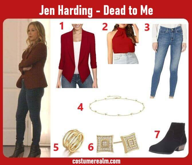 Dead to Me Jen Harding Outfits