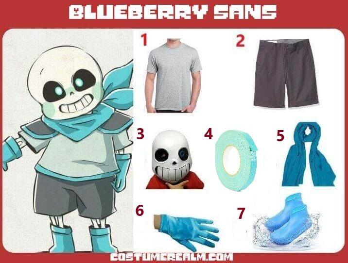 Blueberry Sans Cosplay