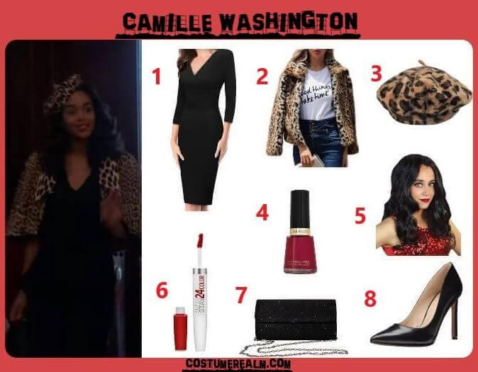 Camille Washington Outfits