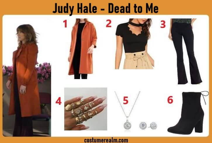 Dead To Me Judy Outfit
