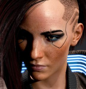 Cyperpunk 2077 V Halloween Costume