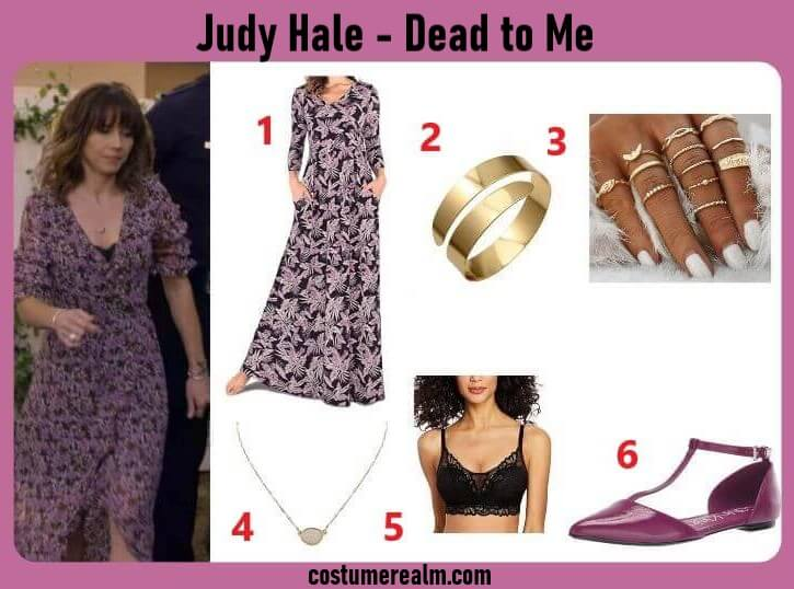 Dead To Me Judy Hale Outfits