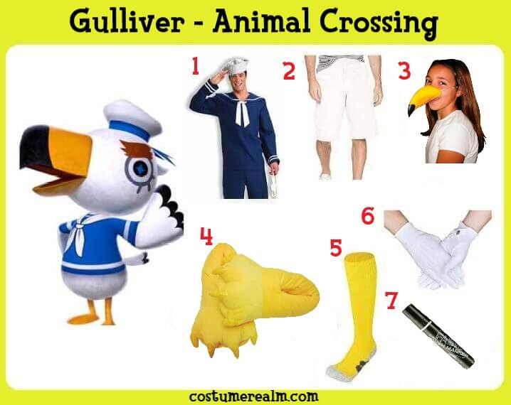 Animal Crossing Gulliver Cosplay