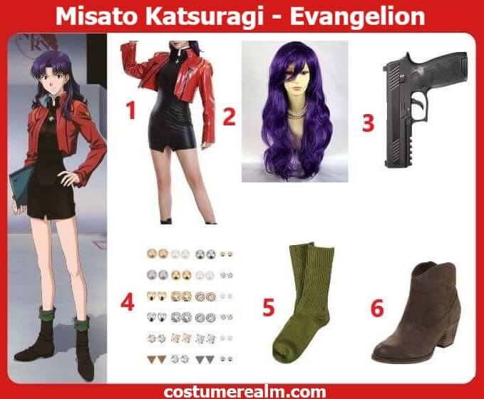 Misato Katsuragi Cosplay