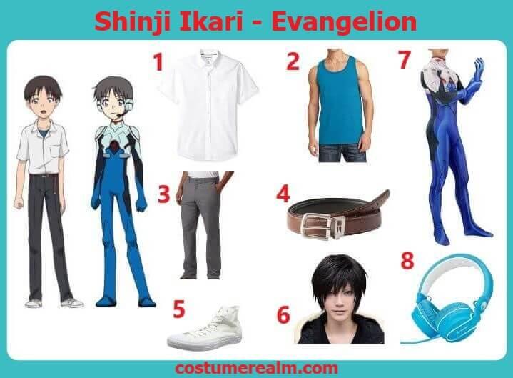 Evangelion Shinji Costume