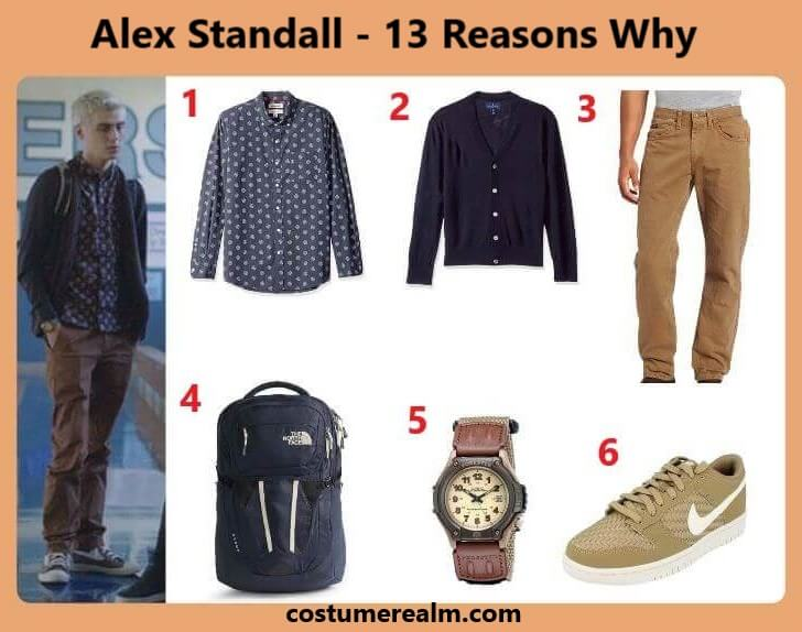 Dress Like Alex Standall From 13 Reasons Why
