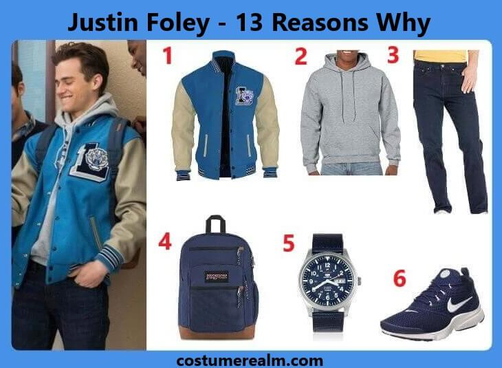 13 Reasons Why Justin Outfits