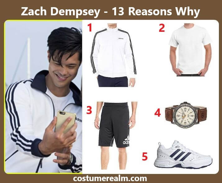 13 Reasons Why Zack Outfits