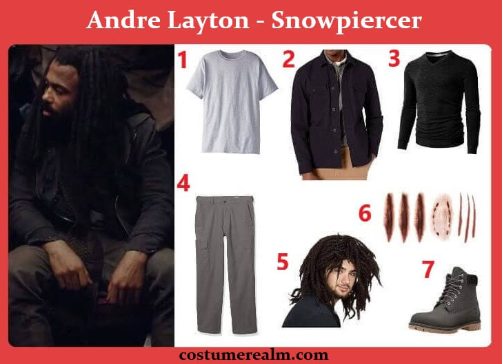 Snowpiercer Andre Layton Costume
