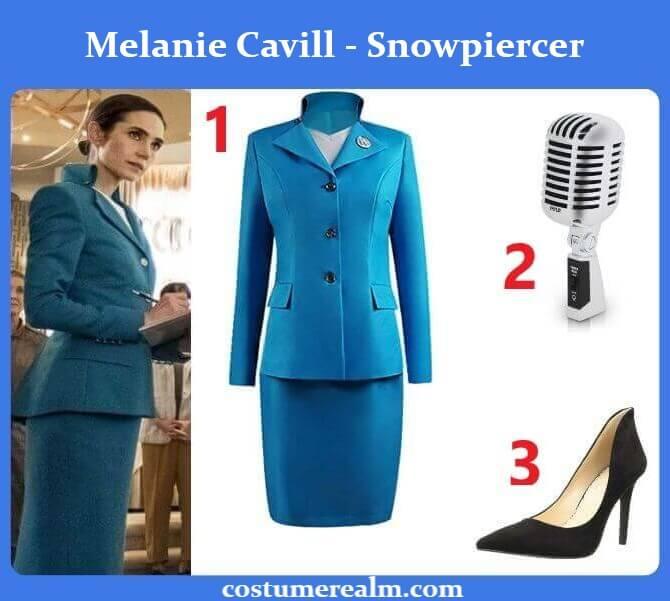 Snowpiercer Melanie Outfits