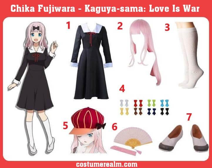 Chika Fujiwara Cosplay