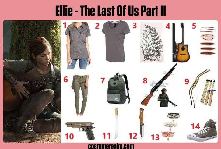The Last Of Us Part 2 Ellie Cosplay