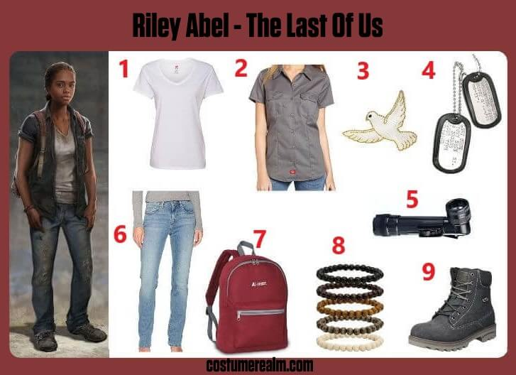 The Last Of Us Riley Abel
