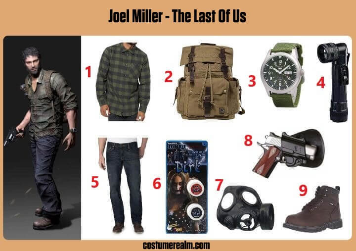 The Last Of Us Joel Cosplay