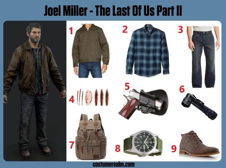 Joel Miller Cosplay