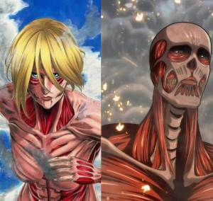 Colossal & Female Titan Cosplay