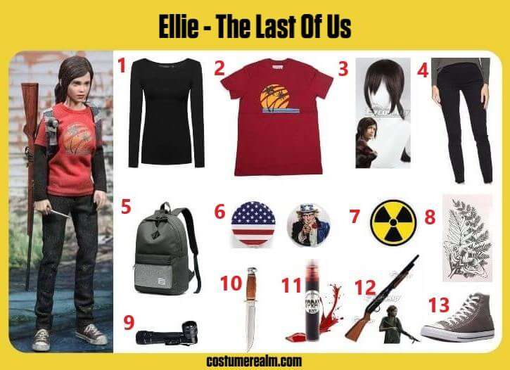 The Last Of Us Ellie Cosplay