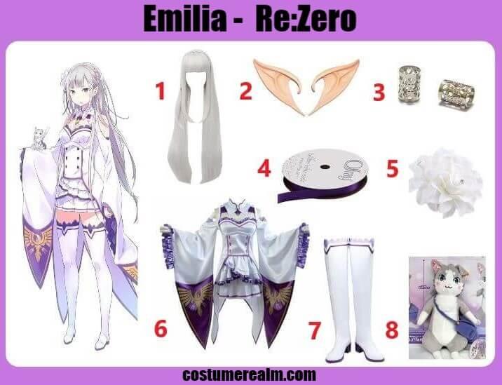 Re:Zero Emilia Cosplay