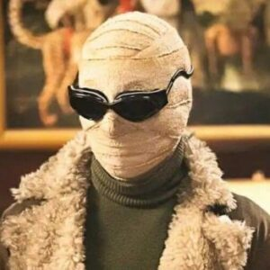 Negative Man Halloween Costume