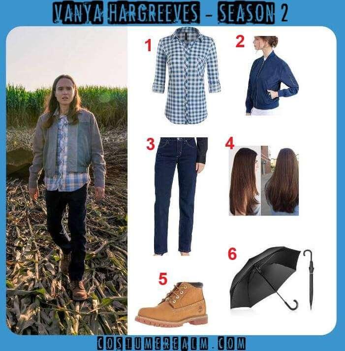 Vanya Hargreeves Season 2 Outfits