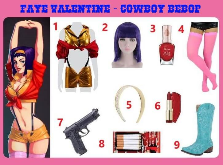 Faye Valentine Cosplay