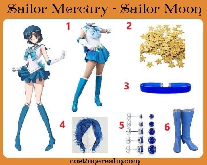 Sailor Mercury Cosplay