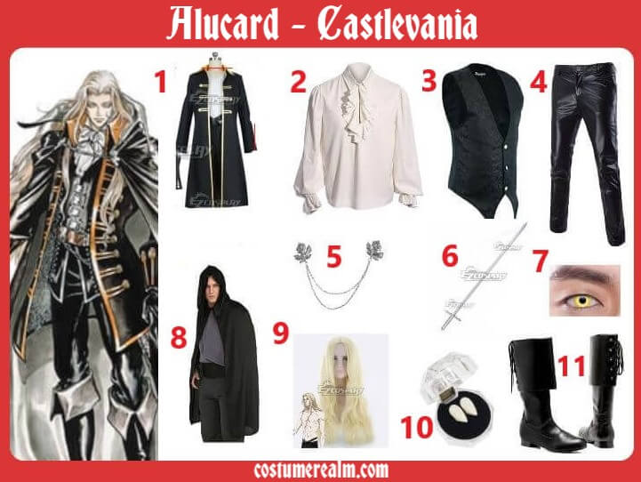 Alucard Cosplay