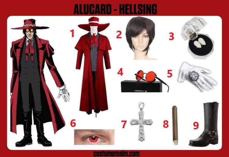 Hellsing Alucard Cosplay