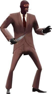 Dress like Spy from TF2