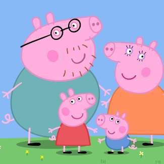 Peppa Pig Family Halloween Costume