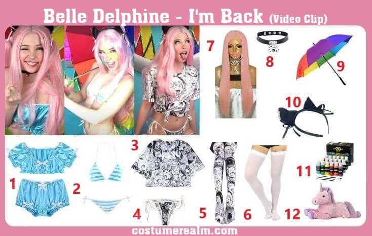 Belle Delphine Outfits