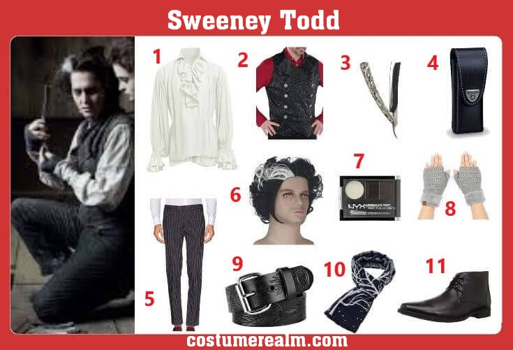 Sweeney Todd Cosplay