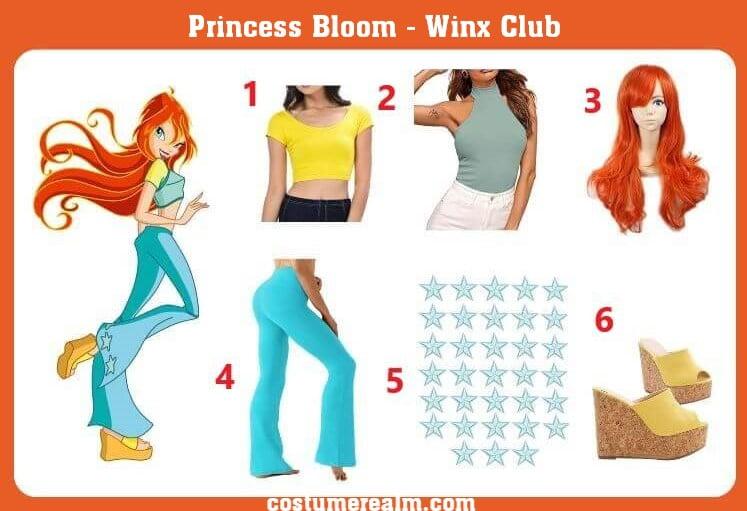 Princess Bloom Cosplay