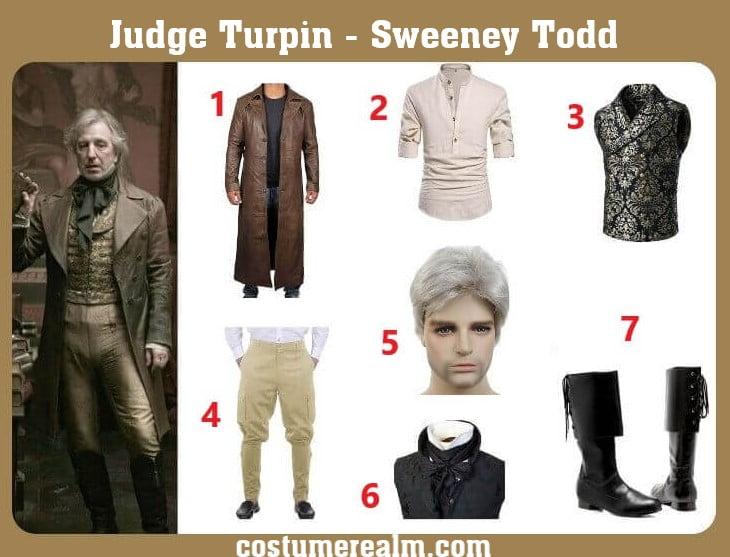 Judge Turpin Cosplay