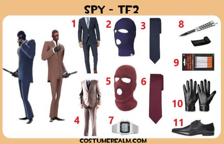 Tf2 Halloween 2020 Items Best TF2 Spy Halloween Costume Guide