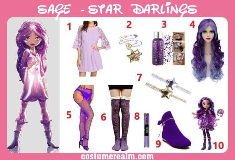 Star Darlings Sage Costume