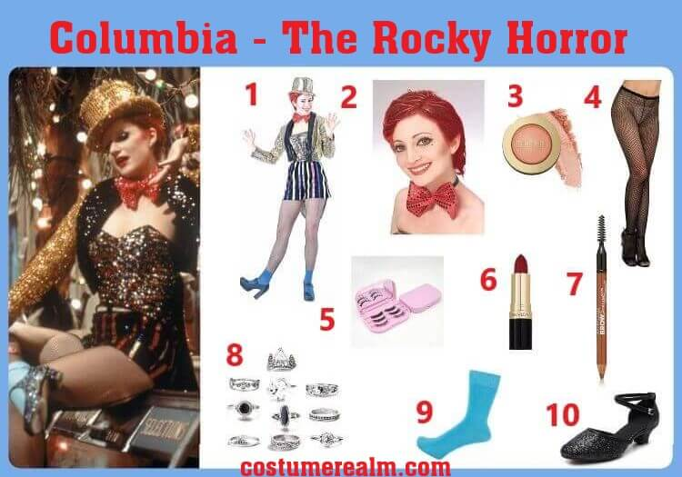 Rocky Horror Picture Show Columbia Cosplay