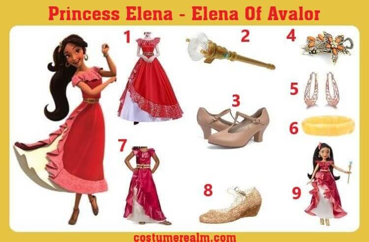 Princess Elena Cosplay